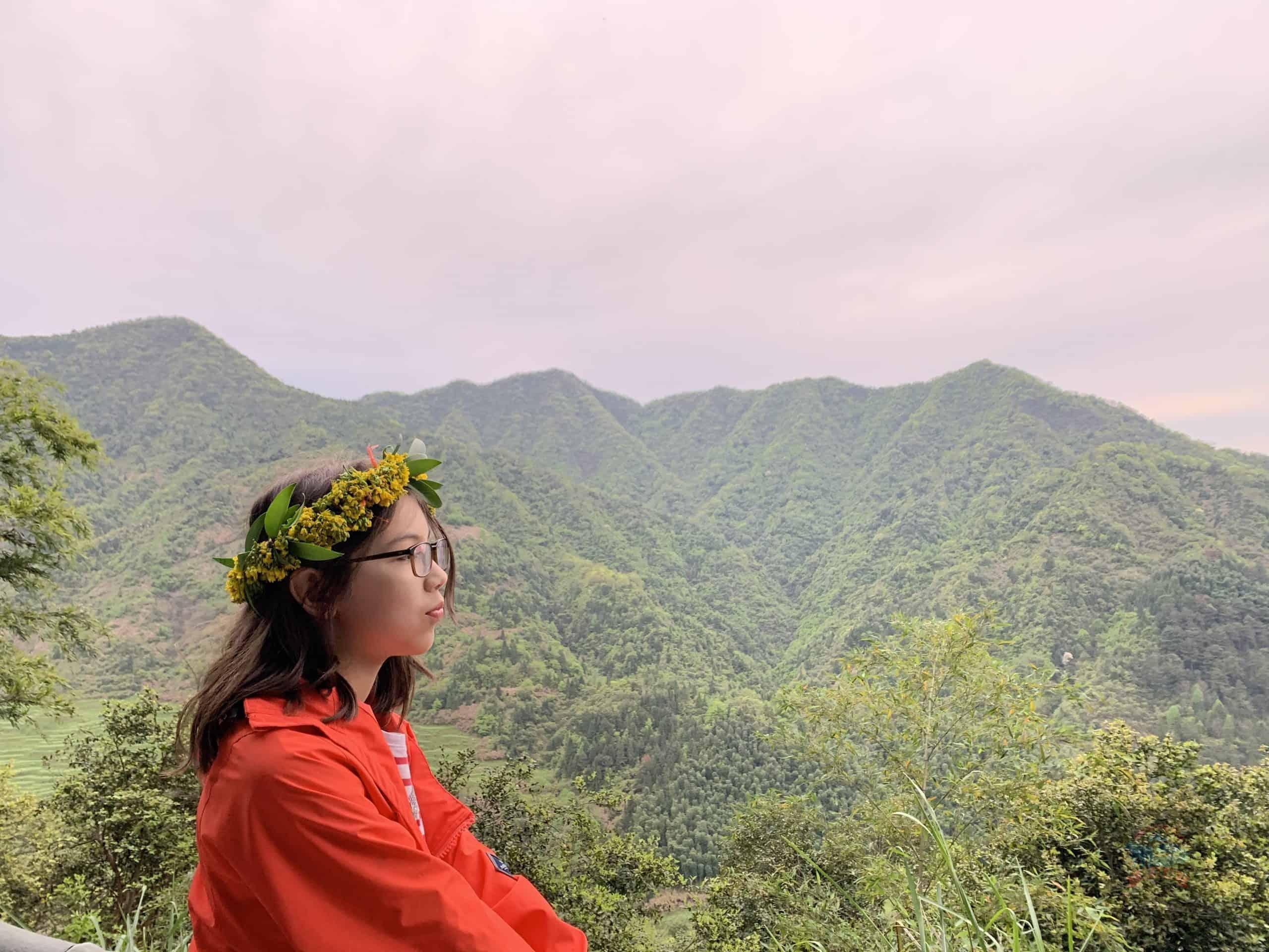Huangling Mountain top